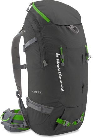 Black Diamond Axis 33 day pack back pack climbing