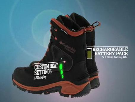 Columbia Buga Thermo heated Boots