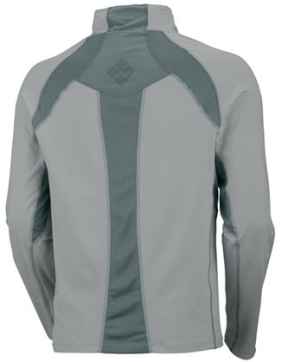 Columbia half zip shirt Solar Polar UPF sun protection back view