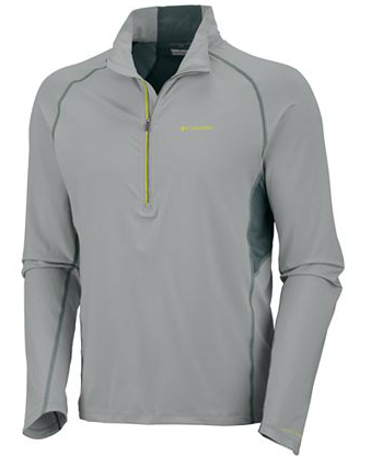 Columbia half zip shirt Solar Polar UPF sun protection