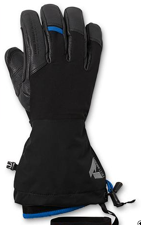 First Ascent Hell Guide winter gloves outer shell