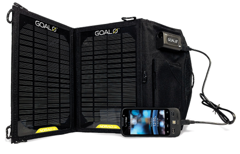 Goal Zero Nomad 7 m solar panel charge mobile electronics gadgets