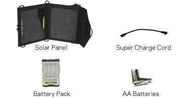Goal Zero guide 10 plus solar panel charger for gadget