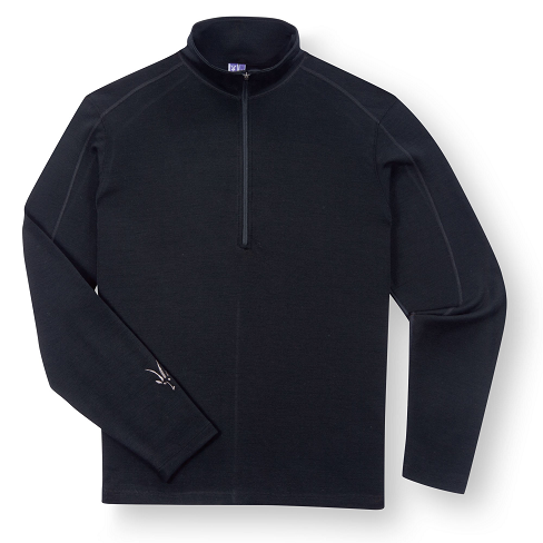 Ibex Shak lite half zip baselayer shirt