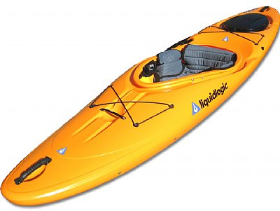 Liquid Logic Remix XP white water kayak