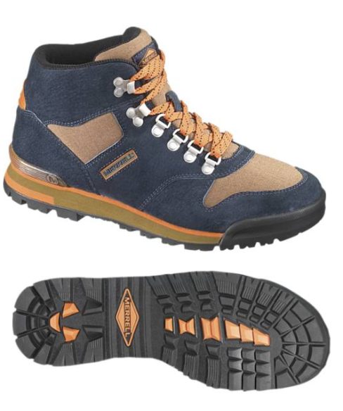 Merrell Eagle Origin classic hiking boots eva pig skin
