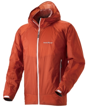 Montbell Versalite wind shell jacket