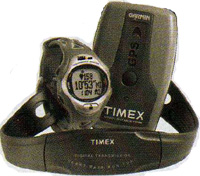 TIMEX gps heart rate monitor pedometer device