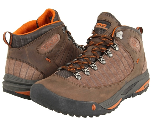 Teva Forge Pro mid cut eVent pair hiking boots shoes