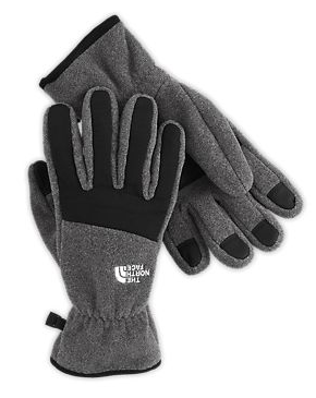 The North Face Denali fleece winter gloves