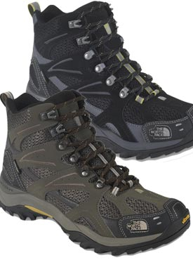 The North Face Hedgehog Tall III GTX XCR high cut hiking boots