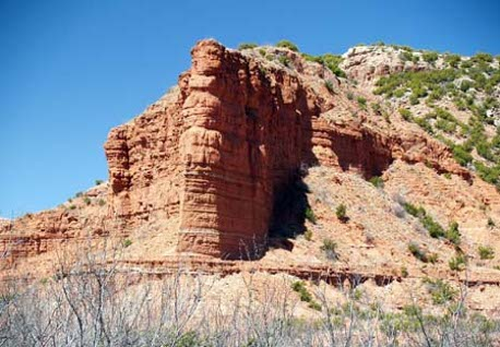 Caprock Canyon State Park Trailway - Bat Caves