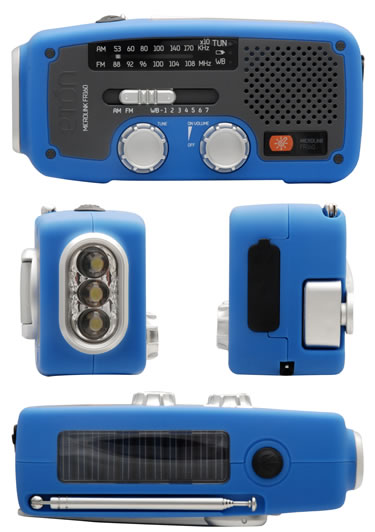 Eton Microlink GR160 - emergency multi-purpose radio