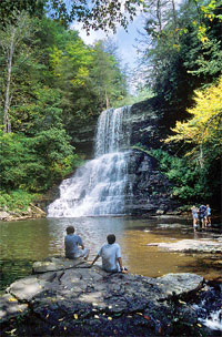 George Washington National Forest Waterfall