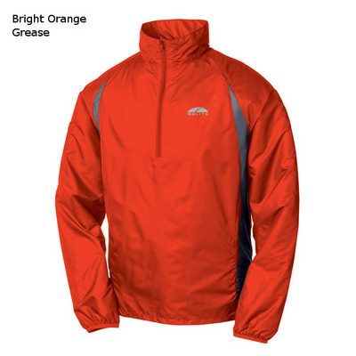 GoLite Wisp wind shell jacket orange