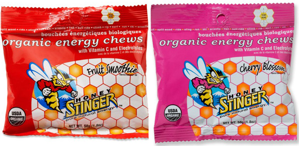 Honey Stinger organic energy chew gummies