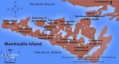 Manitoulin Island, Spirit Island, Ontario, Canada