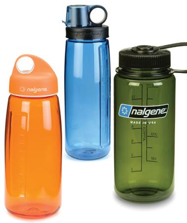 nalgene plastic water bottle - bisphenol A - unsafe to use