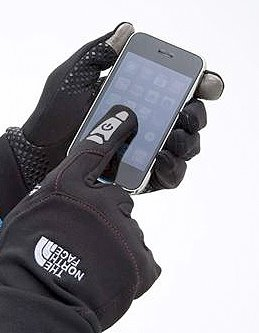 The North Face ETIP gloves for smartphones