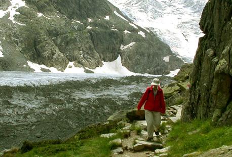 The Haute Route Switzerland  scenic  hiking