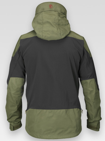 Fjallraven-Keb-jacket-back-view-olive-green_GetOutdoorGear.com_